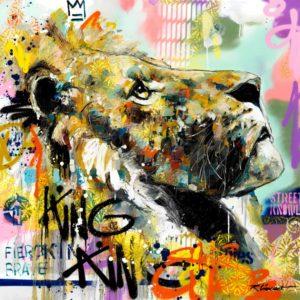 Fab tête de lion Vincent Richeux
