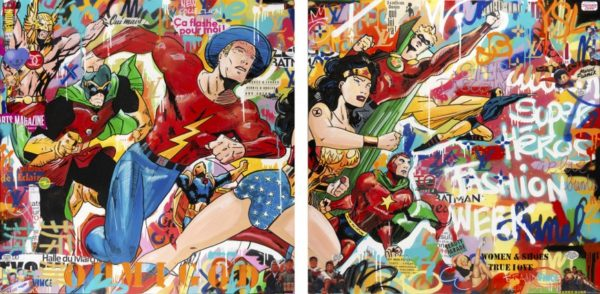 super hero fashion week